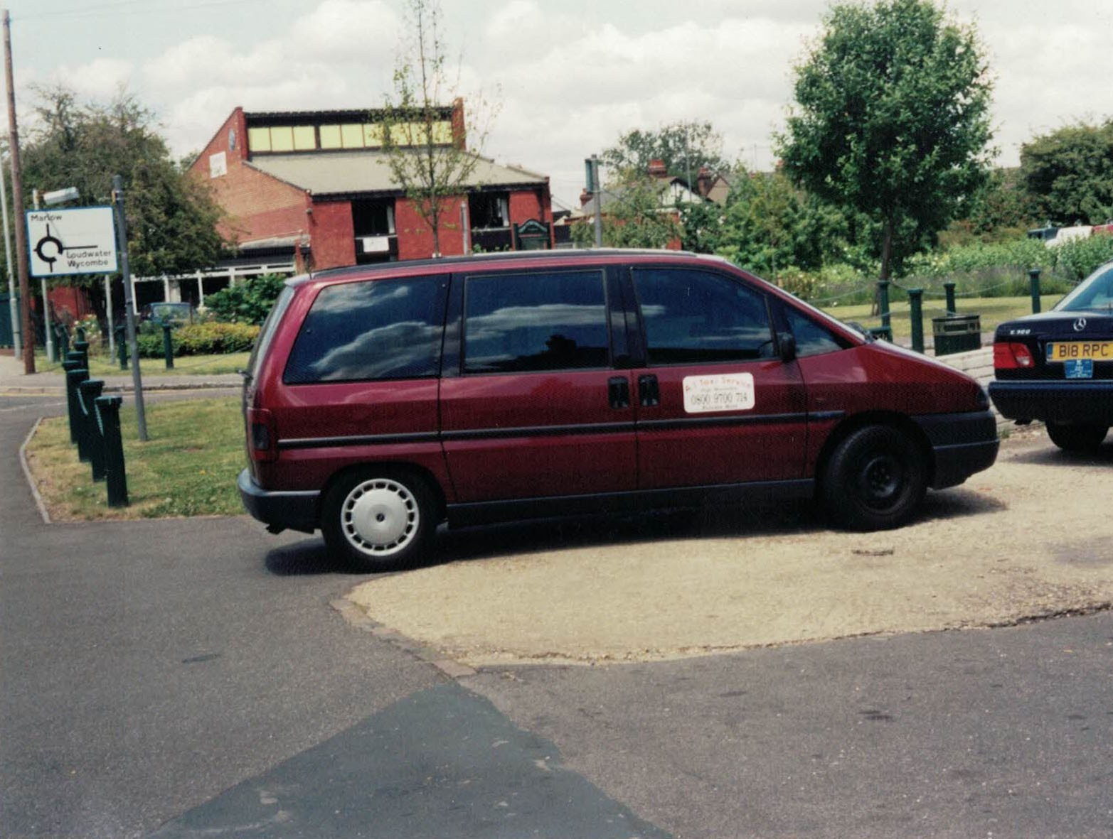 Taxis in Flackwell Heath - circa 2002