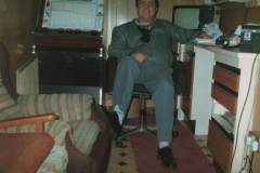 Ray in the office in Lindsay Avenue, High Wycombe - circa 1988