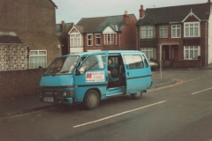 Introducing a new 8 seater minibus - circa 1988